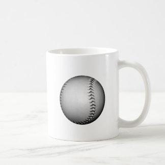 Black Stitches Softball / Baseball Classic White Coffee Mug