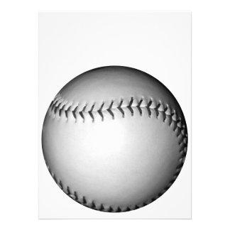 Black Stitches Softball / Baseball Custom Invite