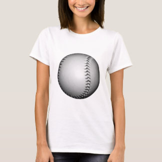 Black Stitches Softball / Baseball T-Shirt
