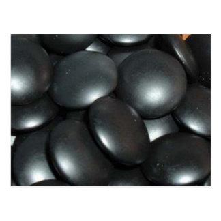 black stones postcard