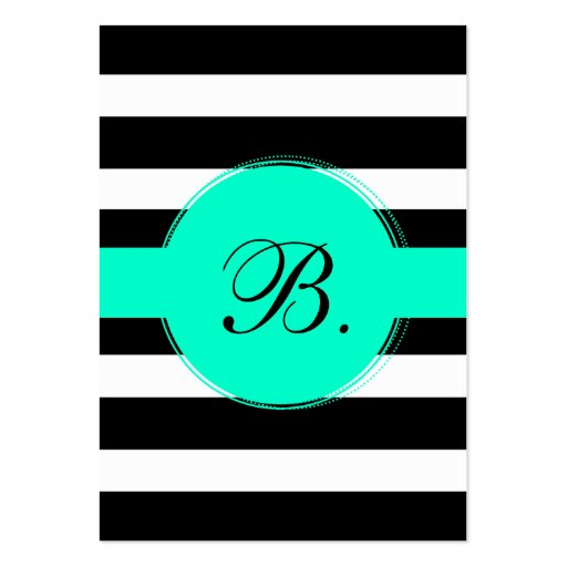 Black Stripe Calling Card