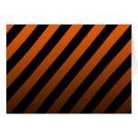 Black Striped Card