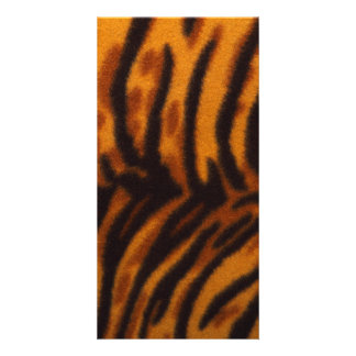 Black Striped Tiger fur or Skin Texture Template
