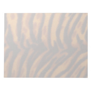 Black Striped Tiger fur or Skin Texture Template Notepad