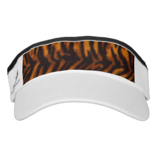 Black Striped Tiger fur or Skin Texture Template Visor