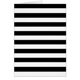 Black Stripes Cards
