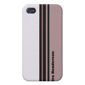 black stripes design iPhone 4/4S cases