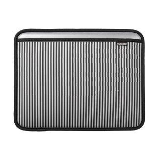 Black Stripes MacBook Air Sleeves