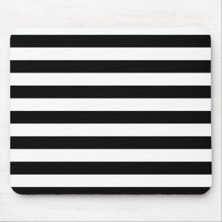 Black Stripes Mouse Pad