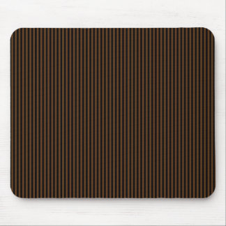 Black Stripes on Brown Mouse Pad