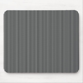 Black Stripes on Grey Mouse Pad