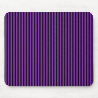 Black Stripes on Purple Mouse Pad