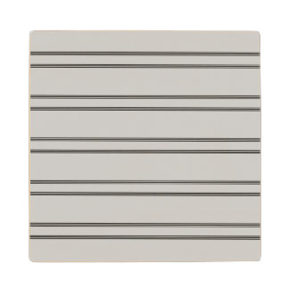 Black stripes on silver wooden coasters. wooden coaster