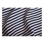 Black stripes Photo Invites