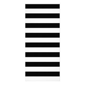 Black Stripes Rack Card