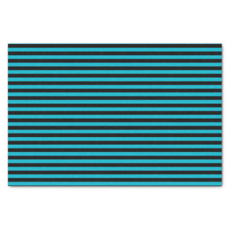 "Black Stripes, You Choose Your Background Color 10"" X 15"" Tissue Paper"