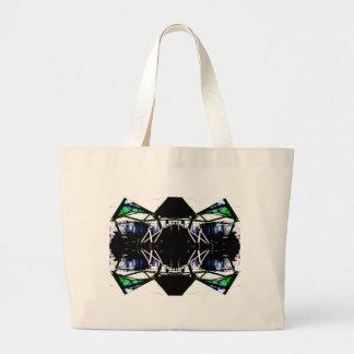 Black Structural Urban Art Form Cricketdiane Bag