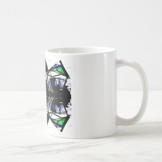 Black Structural Urban Art Form Cricketdiane Coffee Mug