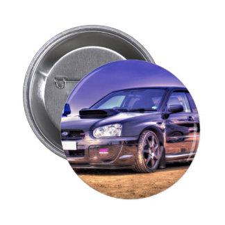 Black Subaru Impreza WRX STi Pin