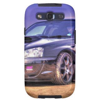 Black Subaru Impreza WRX STi Galaxy S3 Covers