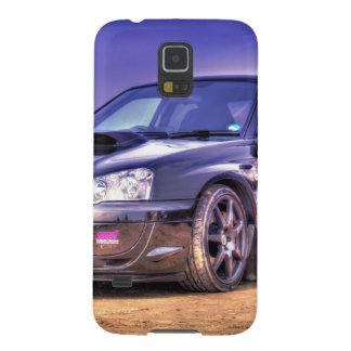 Black Subaru Impreza WRX STi Galaxy S5 Case