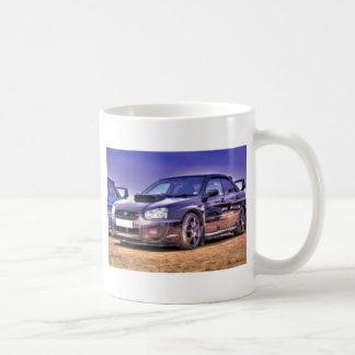 Black Subaru Impreza WRX STi Coffee Mug