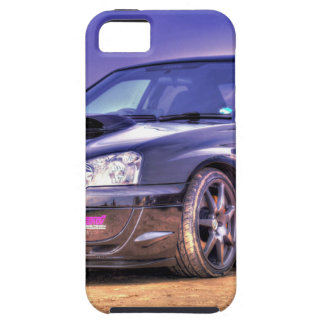 Black Subaru Impreza WRX STi iPhone 5 Cover