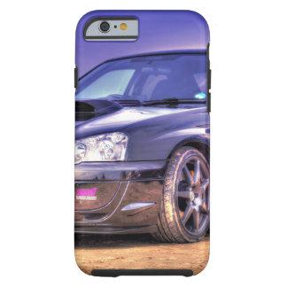 Black Subaru Impreza WRX STi Tough iPhone 6 Case