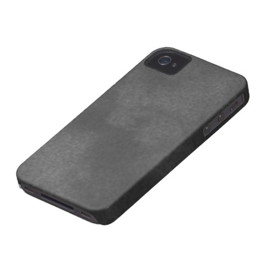 Black Suede iPhone 4/4S Case Mate Case