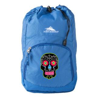 Black Sugar Skull Backpack