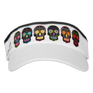 Black Sugar Skulls Headsweats Visor