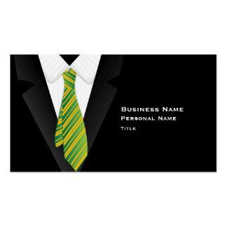 Black Suite Business Card