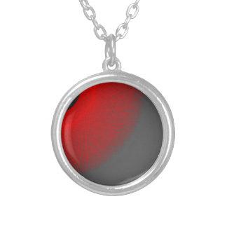 black sun red  light jewelry