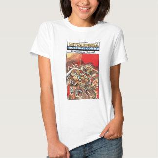 Black Super Hero & the Boy (Zarfrika) T Shirt