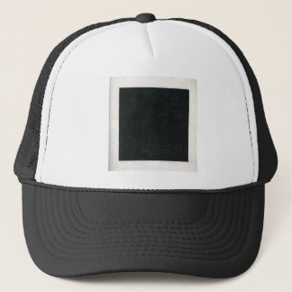 Black Suprematistic Square by Kazimir Malevich Trucker Hat