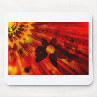 Black Susans and yellow sun.jpg Mouse Pad