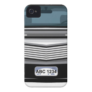 Black SUV front view iPhone 4 Case-Mate Case
