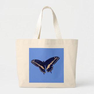 Black Swallow Longtail Canvas Bag