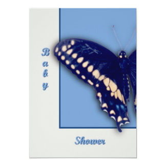 Black Swallow Longtail Card