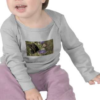 Black Swallowtail Butterfly Baby Shirt