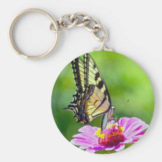 Black Swallowtail Butterfly Keychain