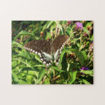 Black Swallowtail Butterfly Nature Photography Jigsaw Puzzle
