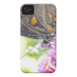 Black Swallowtail Butterfly on Buddleia Bush Case-Mate iPhone 4 Case