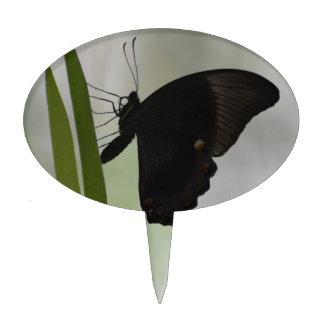 Black Swallowtail Cake Topper