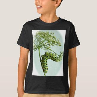 Black Swallowtail Caterpillar eating parsley T-Shirt