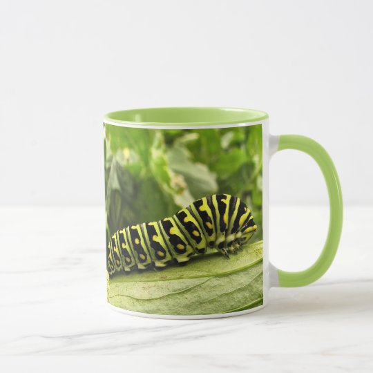 Black Swallowtail Caterpillar Mug