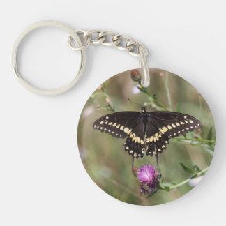 Black Swallowtail Keychain