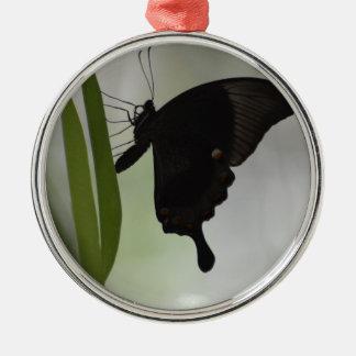 Black Swallowtail Metal Ornament