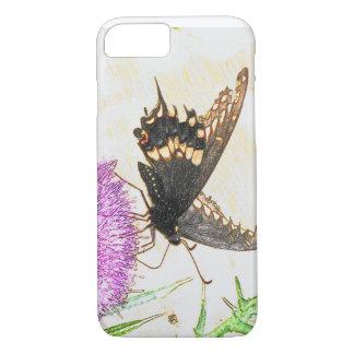 Black Swallowtail phone case