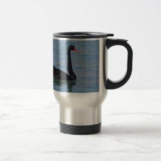 Black Swan 15 Oz Stainless Steel Travel Mug